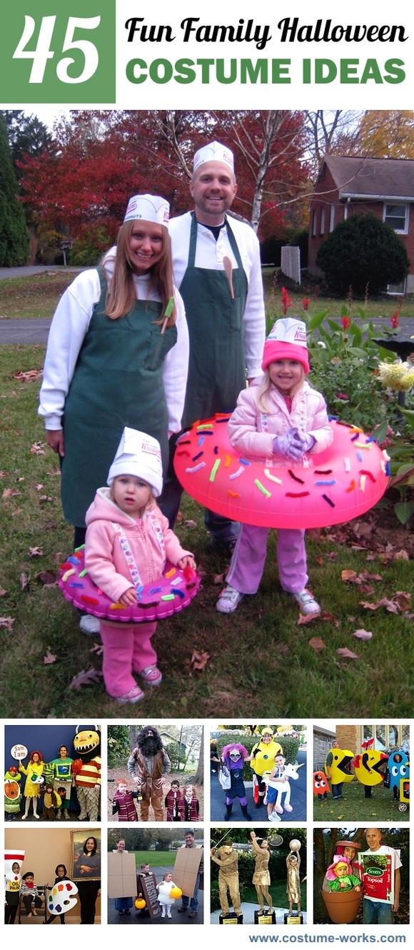 45 Fun Family Halloween Costume Ideas