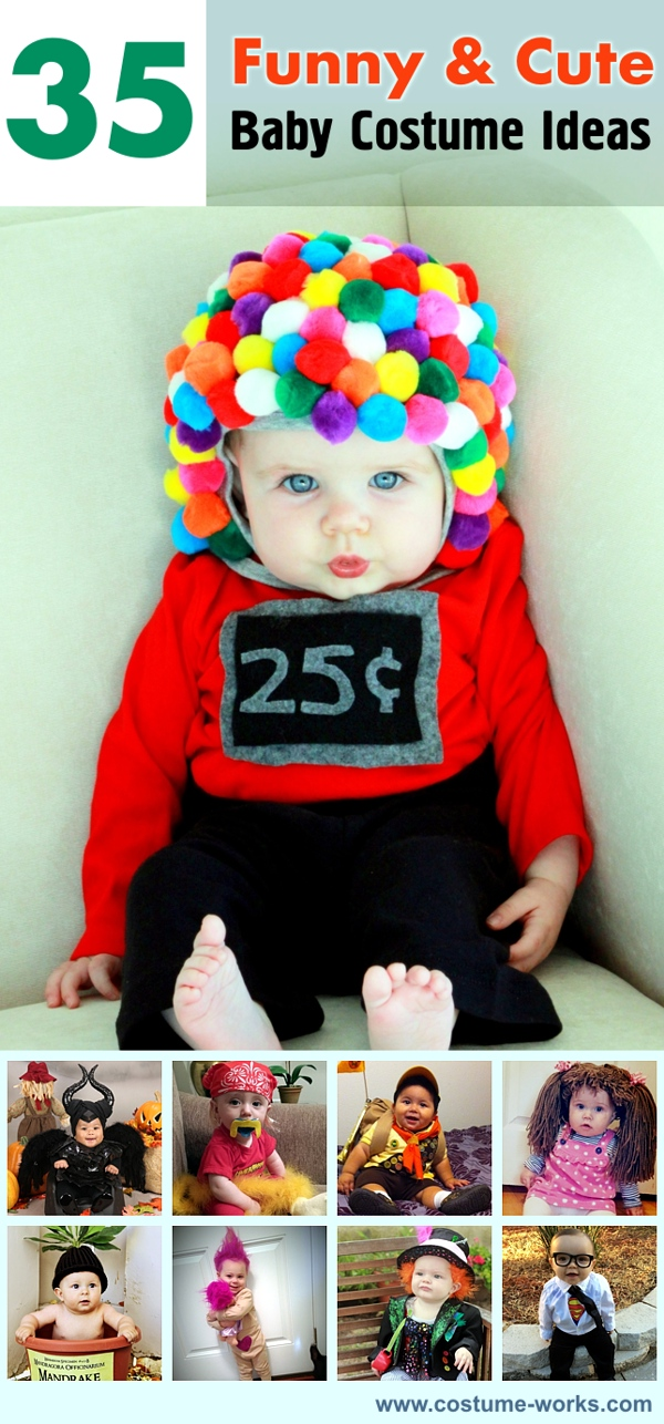 Halloween Costume Ideas For Groups: 35 Funny & Cute Baby Costume Ideas