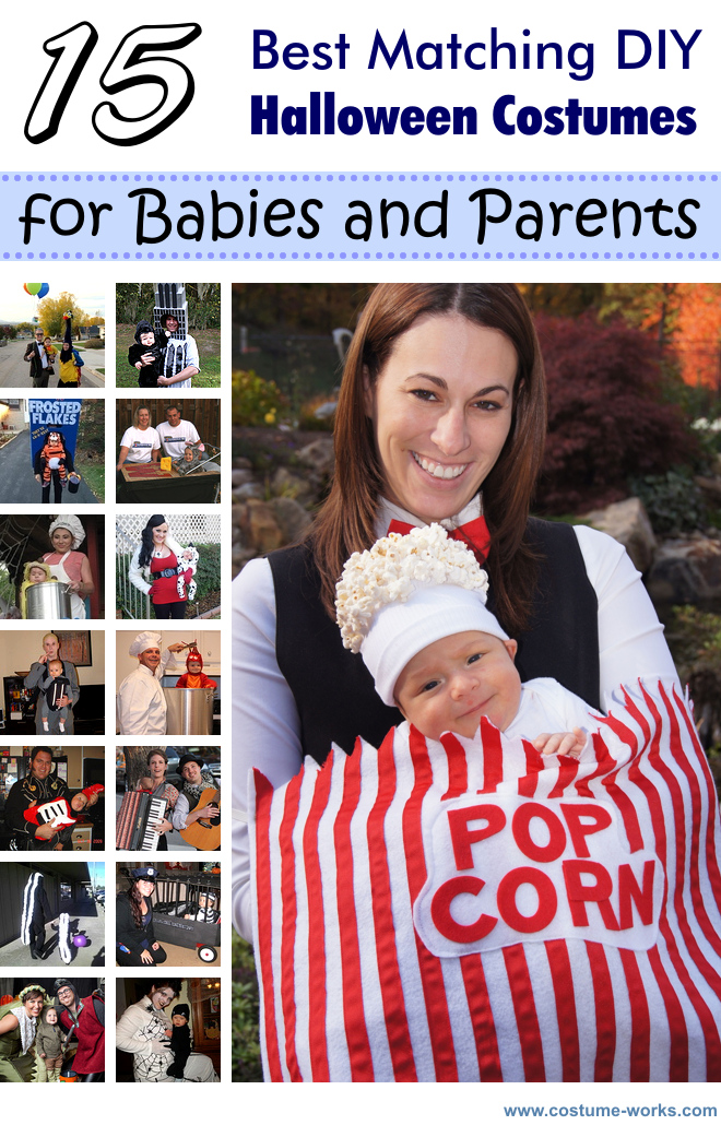 15 best matching diy costumes for babies and parents