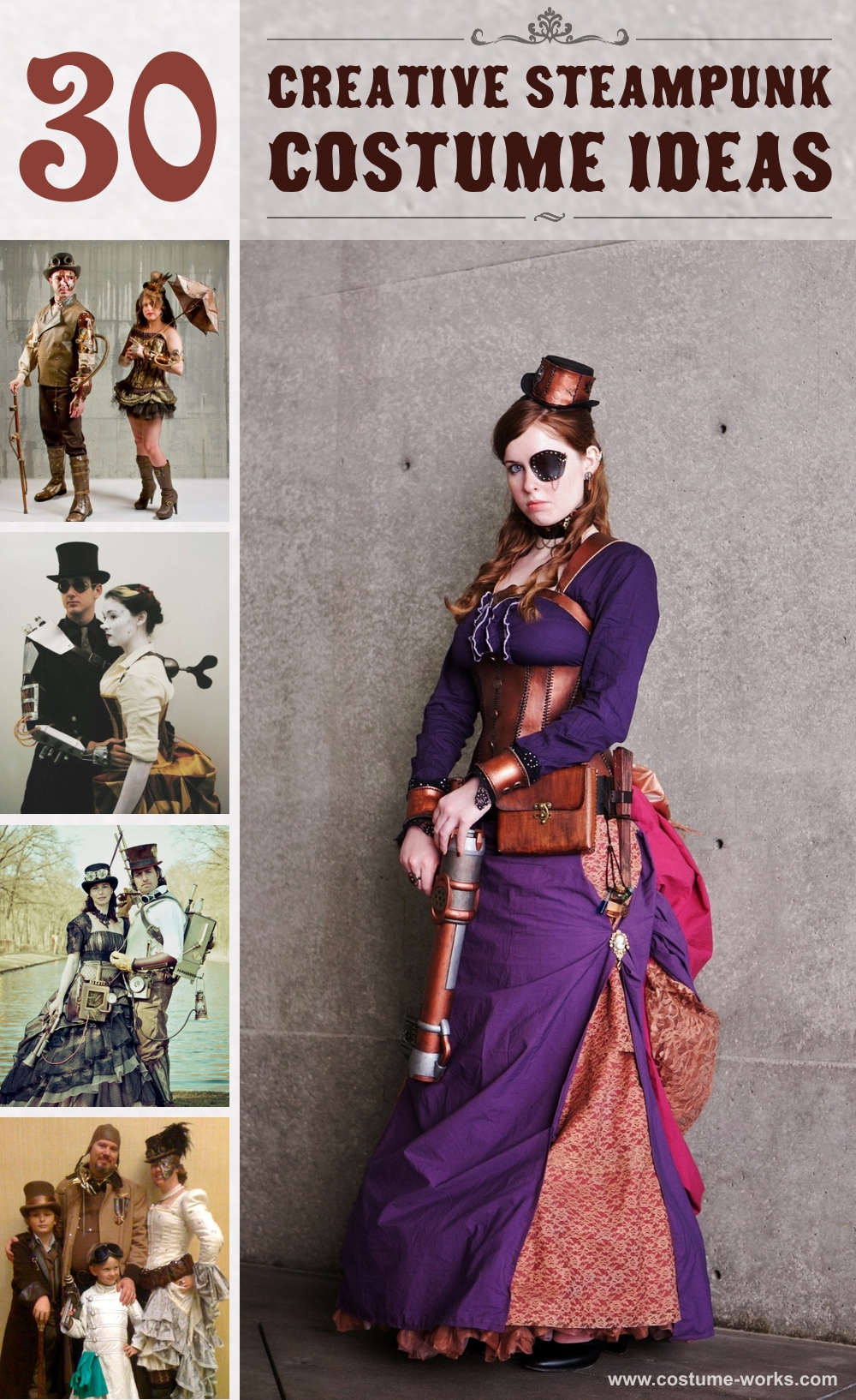 30 creative steampunk costume ideas solutioingenieria Images