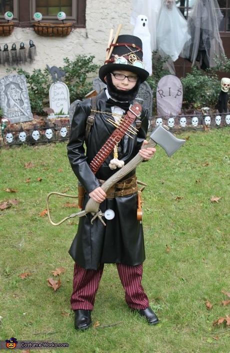 Abraham Lincoln, Steampunk Vampire Hunter