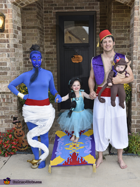 Aladdin Family Costume