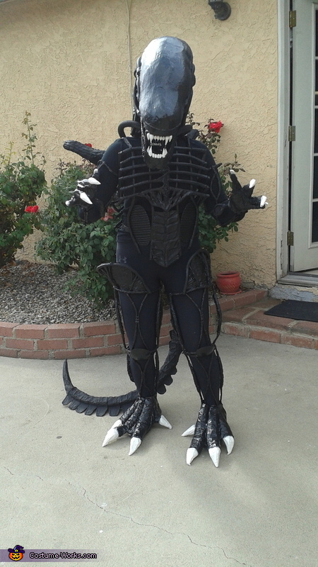 Homemade Alien Costume