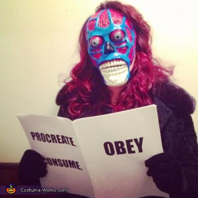 Alien from They Live Costume