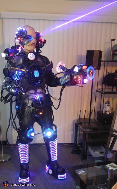 Assimilated Cyborg Costume
