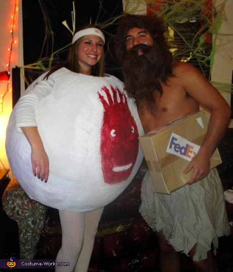 Couple costume ideas - Castaway Couple Costume