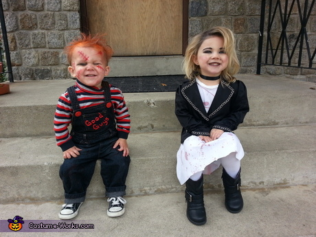 Horror movie costumes: Chucky and Bride of Chucky