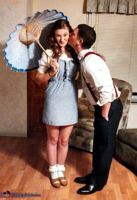 Coolest couples Halloween costumes: Darla and Alfalfa Couple