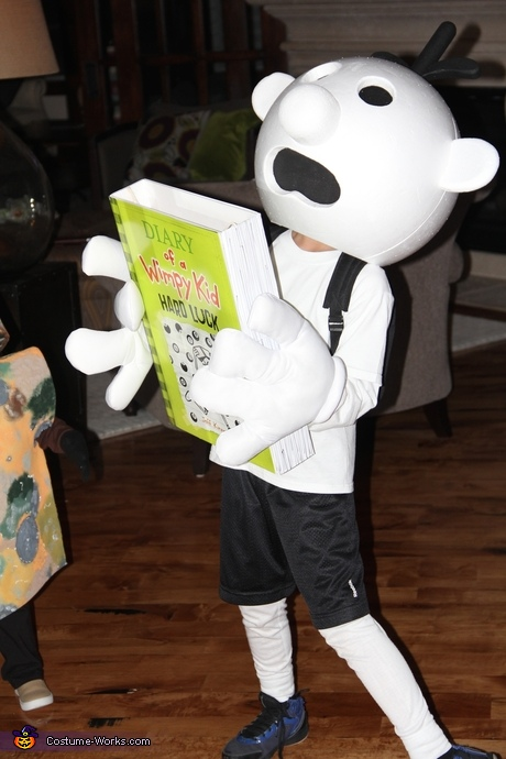 Halloween Costumes from Children's Books - Diary of a Wimpy Kid Costume