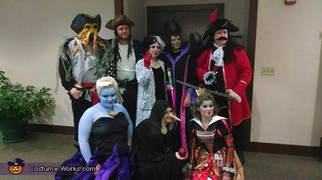 disney villains group costume ideas