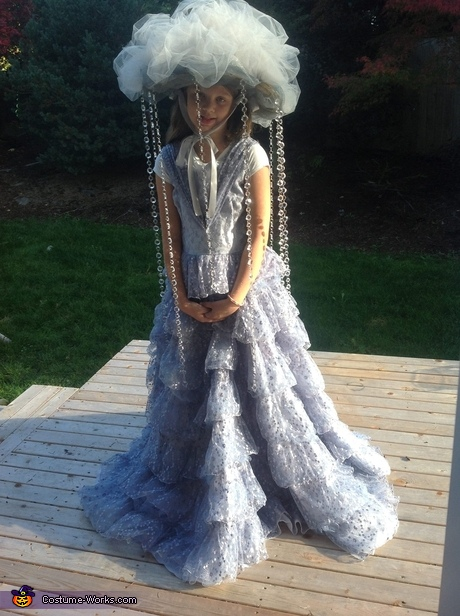 DIY Halloween Costume Ideas for Girls - Fabulous Rain Cloud Costume