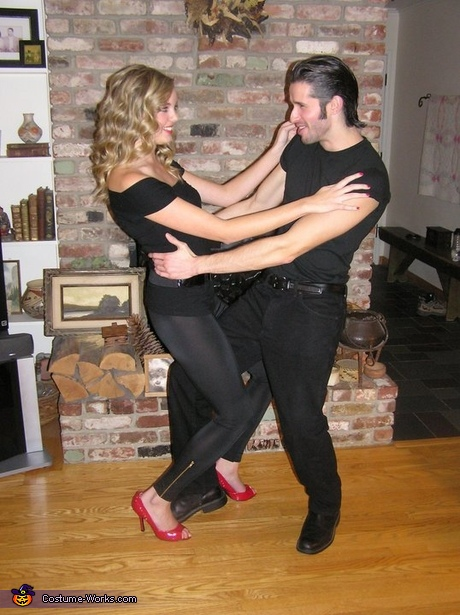Movie costume ideas: Danny and Sandy from Grease