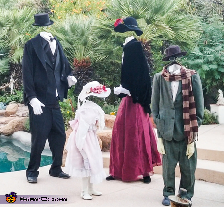 Invisible Family Costume
