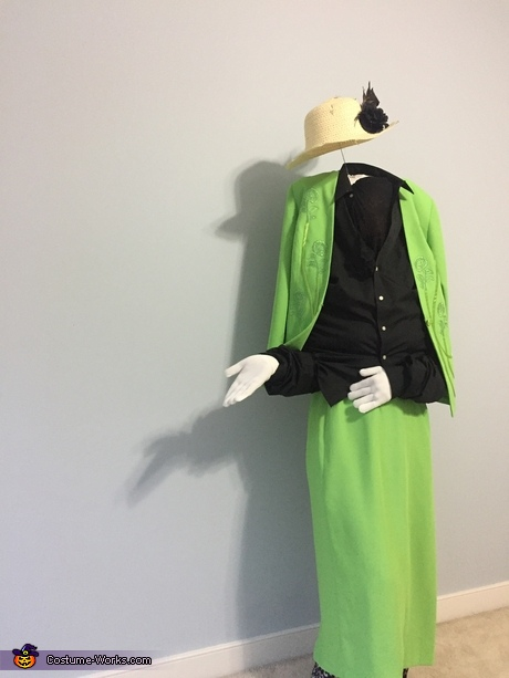 Invisible Lady Costume