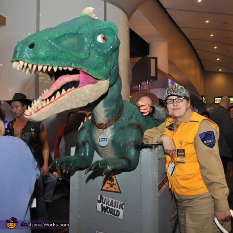 Izzy the Jurassic World Dino Costume