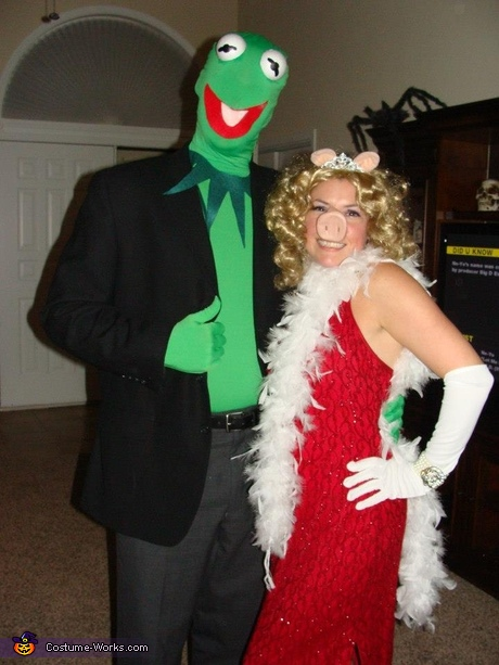 Coolest couples costumes: Kermit and Miss Piggy Couple Costume