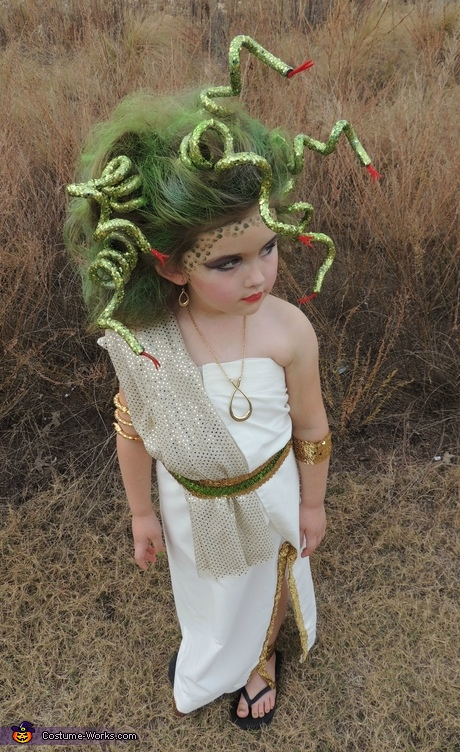 Halloween Costume Ideas for Girls - Medusa Costume for Girls