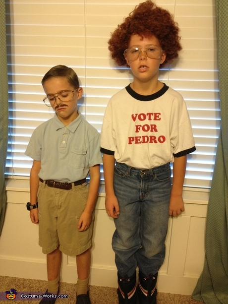 Funny movie costumes: Napoleon Dynamite and Kip