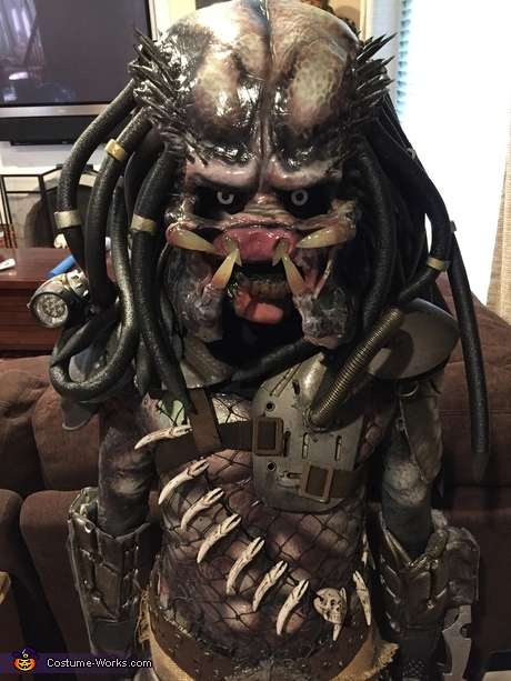 Pint-sized Predator Costume