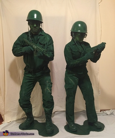 Plastic Army Men Toys Costume