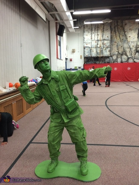 Plastic Toy Soldier Costume