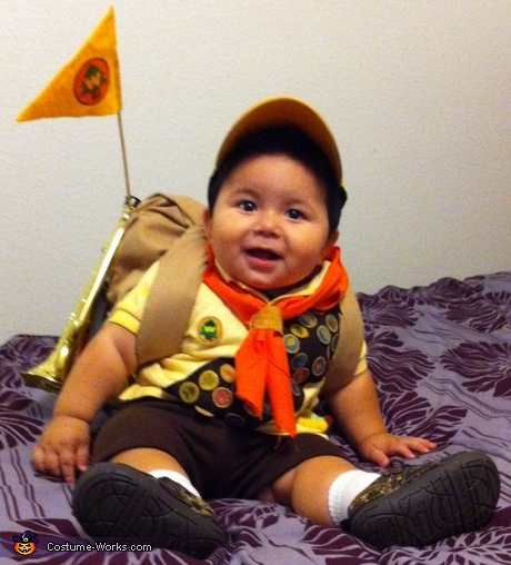 Cute baby costume ideas - Up Scout Russell Baby Costume