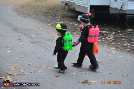 Creative homemade Halloween costumes for babies - Scuba Diver Costumes