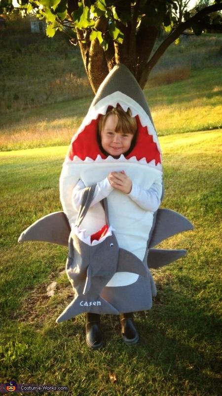 Animal costumes for boys: DIY Shark Costume
