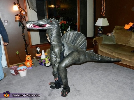 Spino-Dino Boy Halloween Costume