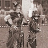 Photo #6 - Abraham Lincoln, Steampunk Vampire Hunter and his trusty assistant - old-fashioned shot