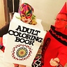Photo #1 - Handmade adult coloring book and crayon