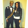 Photo #1 - Prince Akeem from the KIngdom of Zamunda posing with Amy winehouse