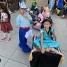 Photo #2 - Aladdin and Jasmine with Magic Carpet