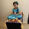 Photo #3 - Aladdin and Jasmine with Magic Carpet