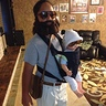 Photo #1 - Complete with Alan's man purse and baby carrier