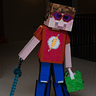 Photo #1 - Alex and his Minecraft self
