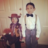 Photo #1 - Sonny and Vincent as a cowboy and Alfalfa