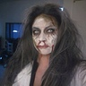 Photo #4 - Me the mommy as a crazy zombie doctor