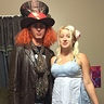 Photo #2 - Alice and The Mad Hatter in progress