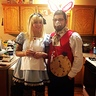 Photo #3 - Alice and white rabbit