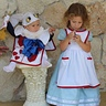 Photo #1 - Alice in Wonderland and the White Rabbit