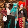Photo #5 - Alice in Wonderland Cheshire Cat and Mad Hatter