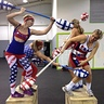 Photo #4 - Women American Gladiators Jousting