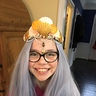 Photo #4 - Testing out the crown and the wig!