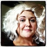 Photo #4 - Picture of me in the original blonde wig.