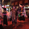 Photo #5 - Posing and performing with other stilt walkers at PowerPlant LIVE!