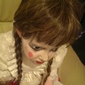 Photo #2 - emma whilst getting her facepaint done by me