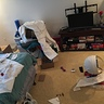 Photo #4 - The mess I made while making the suit.
