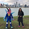 Photo #4 - Ash-Greninja and Mom (Co-Creators of the costume)