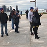 Photo #5 - Excited Pokemon Go Trainers at the Adler Planetarium taking Ash-Greninja's pic